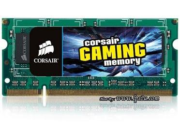corsair ram 2gb sodimm gaming performance laptop ddr2 800mhz
