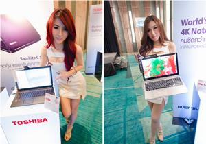 Toshiba ประเทศไทย เปิดตัวโน้ตบุ๊กหน้าจอระดับ Ultra HD 4K เครื่องแรกของโลก
