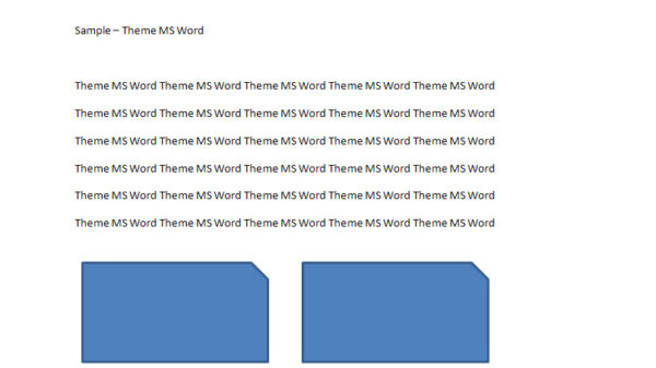 MS Word Theme 1