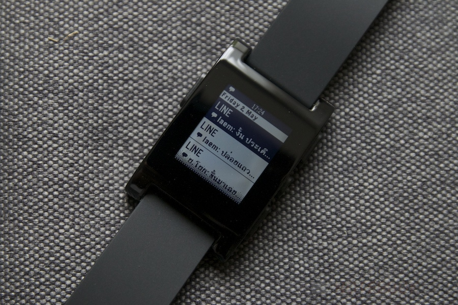 Pebble Smartwatch Review 025