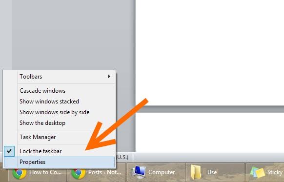 Taskbar-Address bar-1