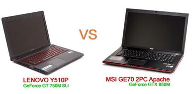 Lenovo Y510p vs MSI GE70 2PC ใครคุ้มเงิน ใครเล่นเกมดีกว่ากัน!!!