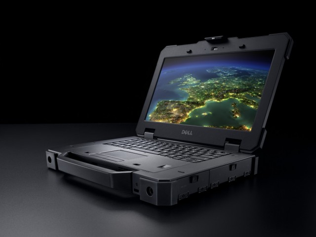 Beauty Shot of the Latitude 14 Rugged Exteme Notebook