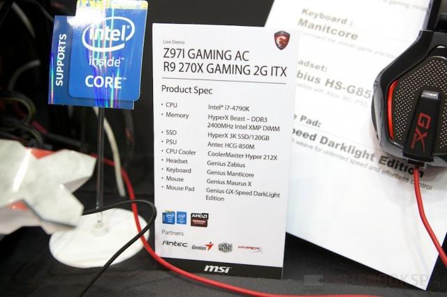 Computex 2014 MSI 112