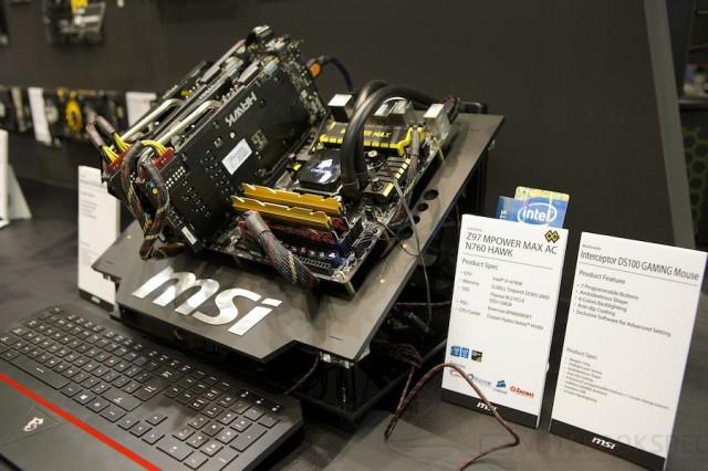 Computex 2014 MSI 130