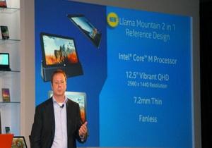 Intel โชว์ Llama Mountain tablet ที่บางกว่า iPad Air ในงาน Computex 2014