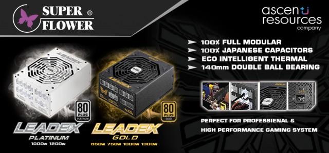 PR Super Flower LEADEX Platinum & GOld