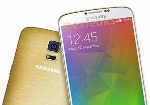 หลุดภาพสมาร์ทโฟน Samsung Galaxy F สีทอง มาพร้อมกับตัวเครื่องโลหะ