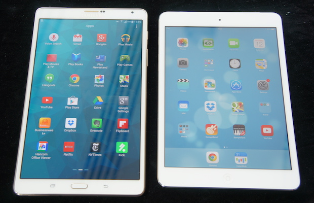 iPad mini vs Galaxy Tab S 8.4 600