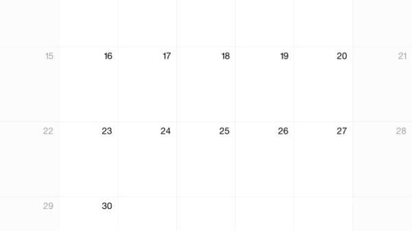 ipad calendar 1