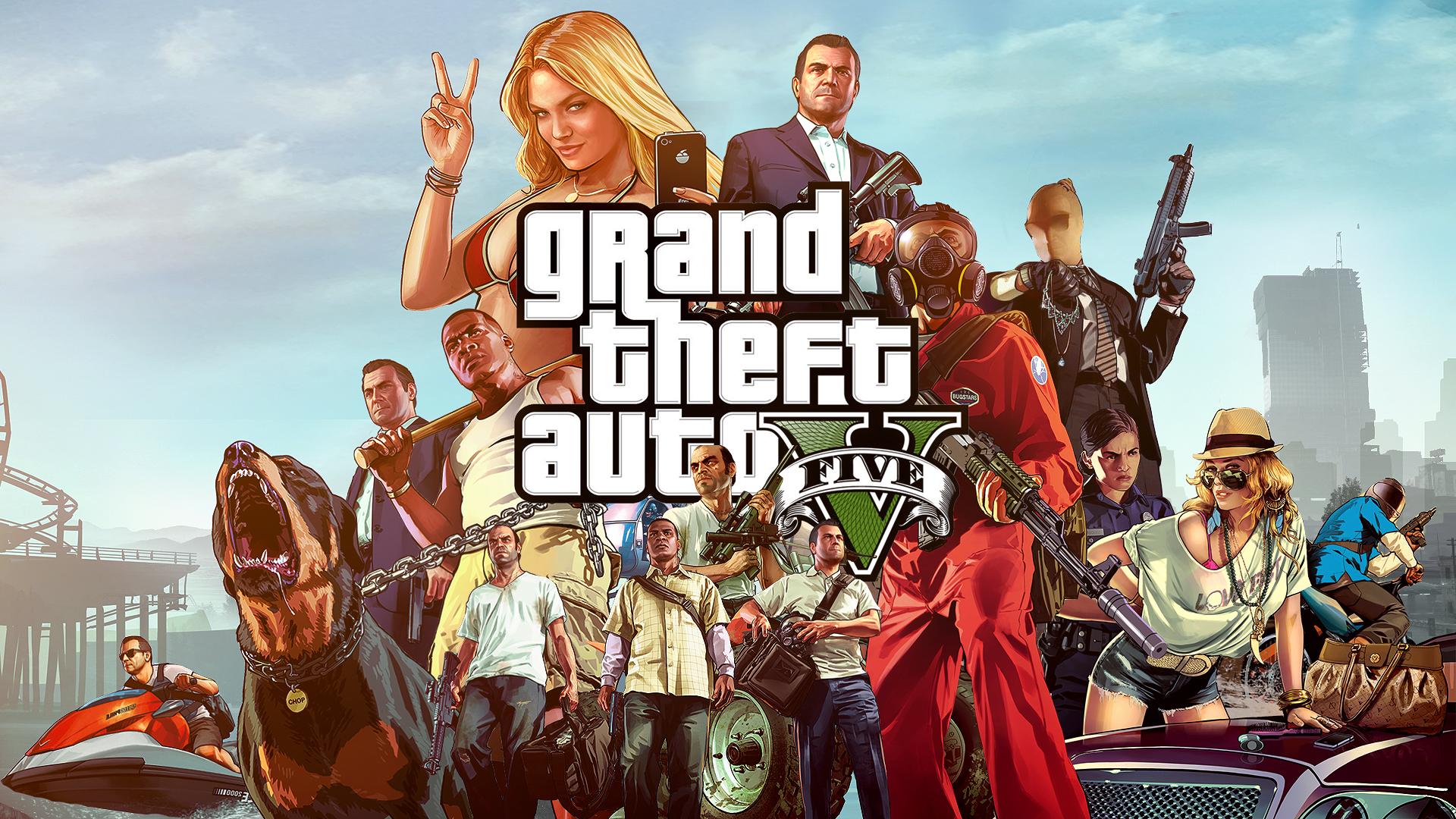 Grand Theft Auto V Wallp 2013