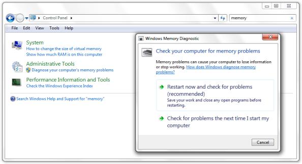windows-mem-diagnostic