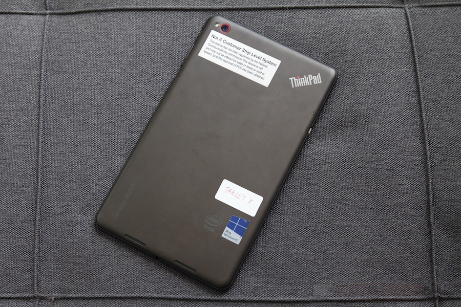 Lenovo ThinkPad Tablet 8 Review 005