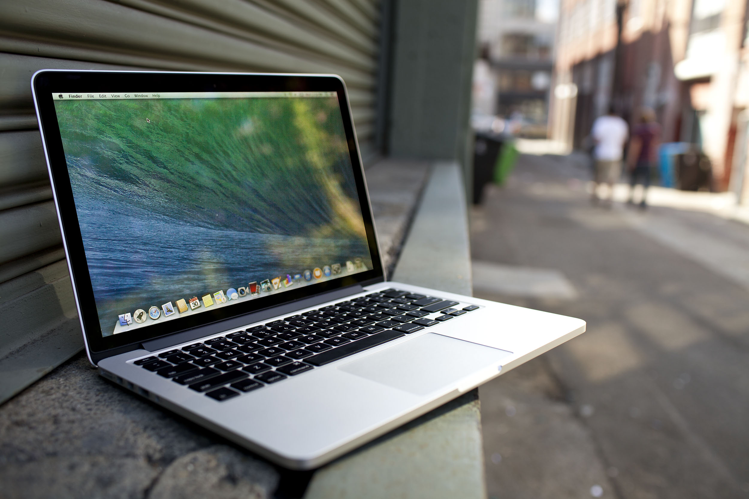 Macbook Pro Retina 15inch. Photo: Josh Valcarcel