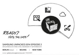 Samsung เตรียมเปิดตัว Galaxy Note 4 จะเปิดตัวเดือนกันยายนนี้ ส่วน Gear Solo เจอกัน IFA 2014