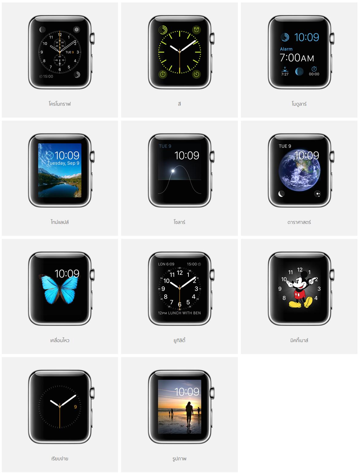 Apple   Apple Watch   การออกแบบ