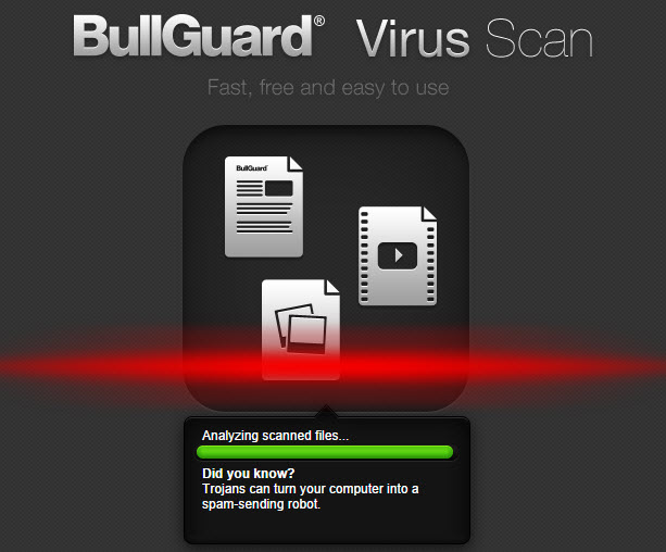 BullGuard Virus Scan-0