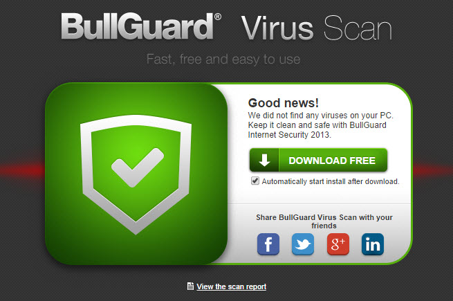 BullGuard Virus Scan-7