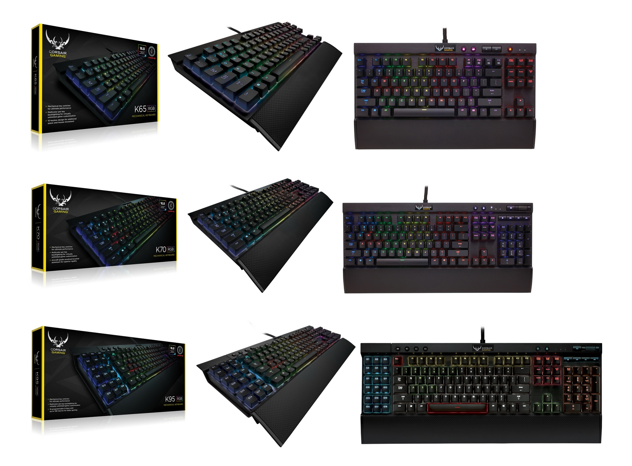 Corsair Gaming K65-K70-K95 RGB