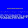 Steve Ballmer wrote the text for the old Blue Screen of Death 02 300