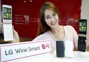 LG เปิดตัวสมาร์ทโฟนระบบปฏิบัติการ Android รุ่น Wine Smart ที่มาพร้อมกับดีไซน์แบบฝาพับ