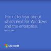 microsoft event next windows 30th sept 300