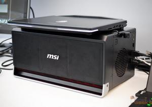 MSI GS30 Gaming Shadow เกมมิ่งโน้ตบุ๊คพร้อม Dock ใส่การ์ดจอแยก PCIe 3.0 x16 ได้