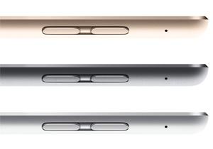 Apple เปิดตัว iPad Air 2 มาพร้อม Touch ID, สีทอง, ความบางเบาและแรงกว่าเดิม