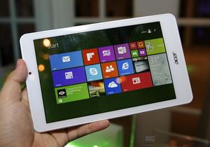 Acer Iconia Tab 8 แท็บเล็ต Win 8.1, Quad Core , กล้องหลัง 5 หน้า 2 ล้าน ราคา 6,900 บาท