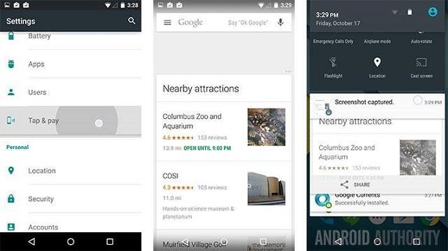 Android Lollipop screenshot 01 600