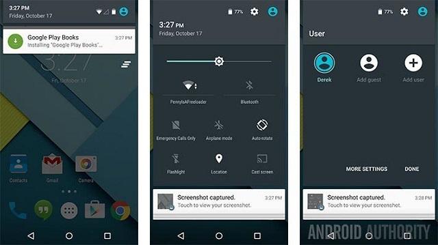 Android Lollipop screenshot 02 600