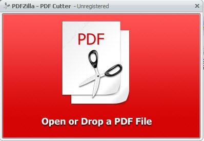 Cut-Merge PDFZilla3-10