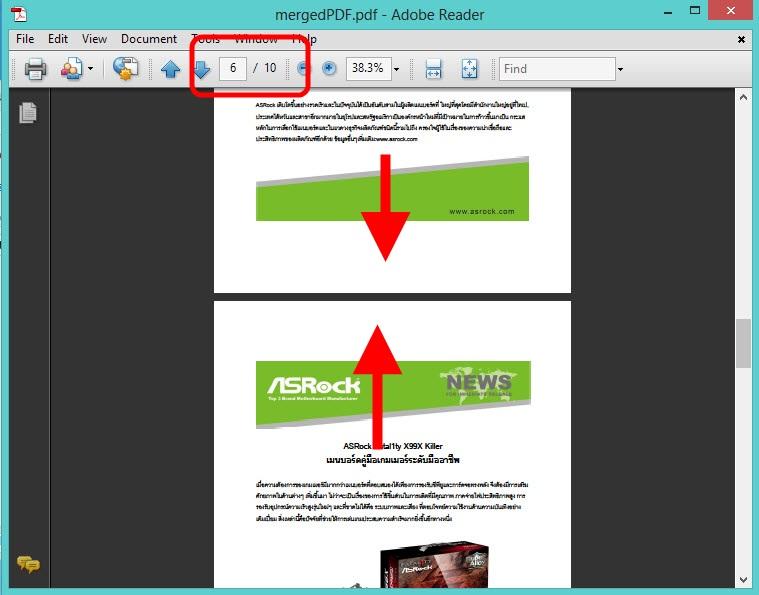 Cut-Merge PDFZilla3-7