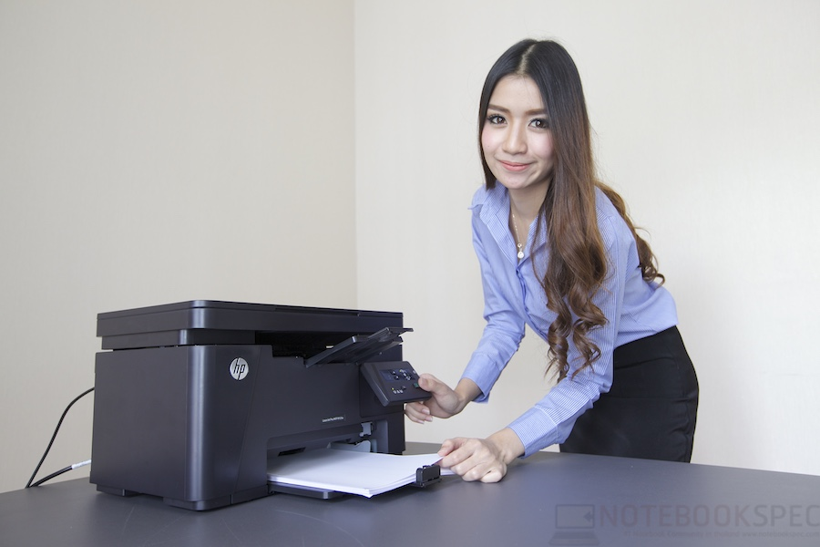 HP LaserJet Pro M125A Review 009
