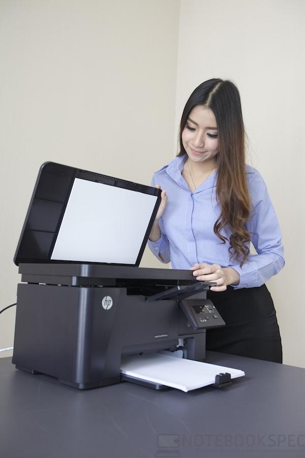 HP LaserJet Pro M125A Review 014