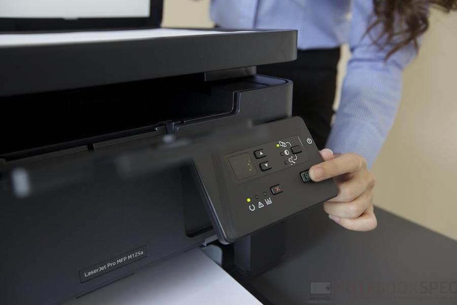 HP LaserJet Pro M125A Review 015