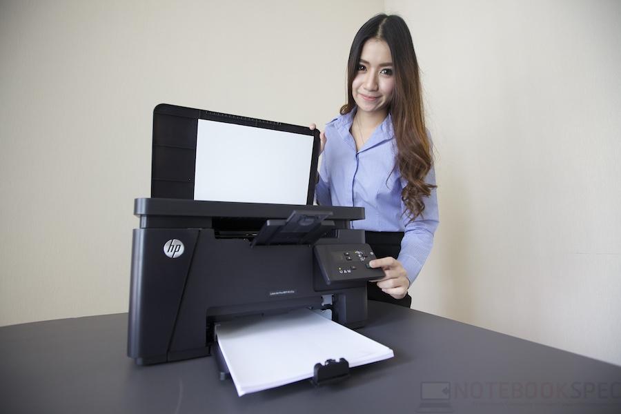 HP LaserJet Pro M125A Review 016