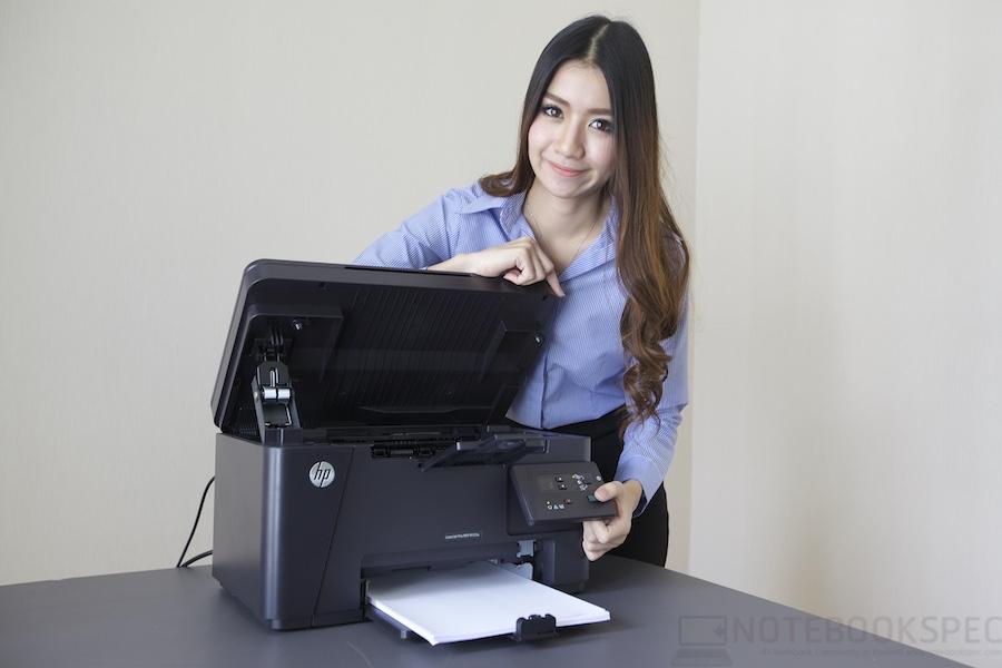 HP LaserJet Pro M125A Review 017