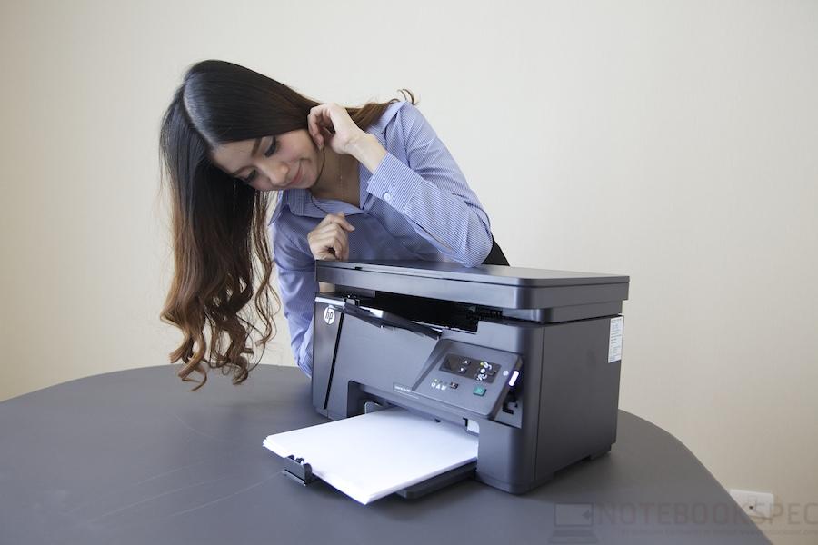HP LaserJet Pro M125A Review 024