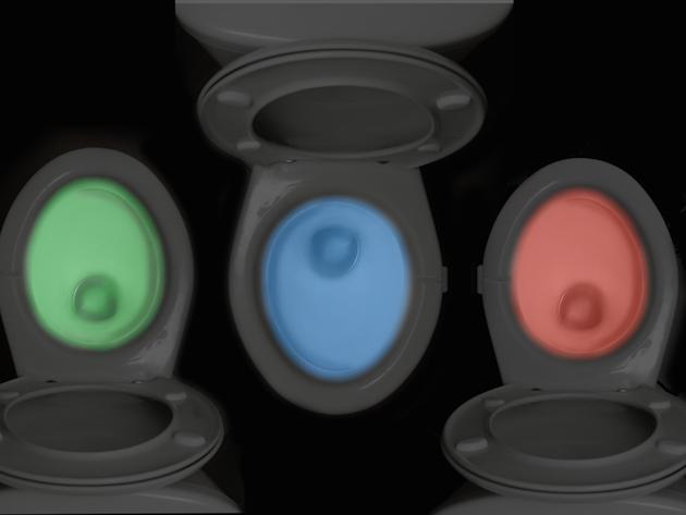Illumibowl disco toilet light 600