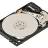 Laptop hard drive exposed