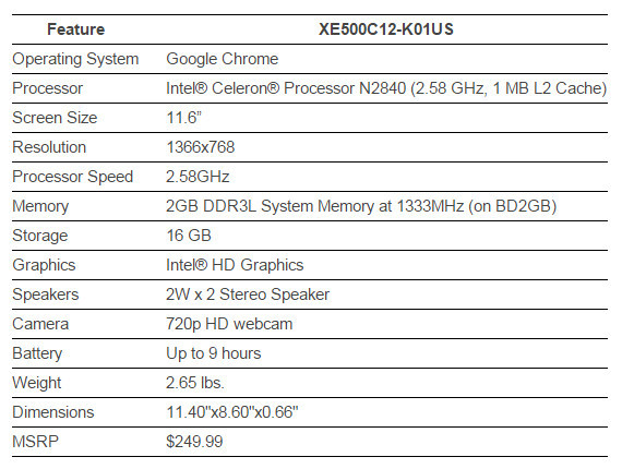 Samsung Chromebook 2 04 600