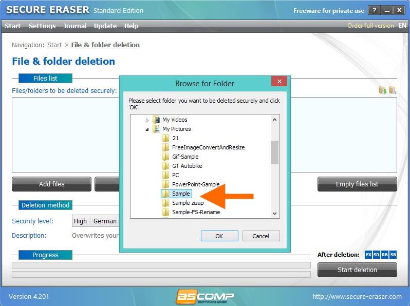 Secure Eraser-5