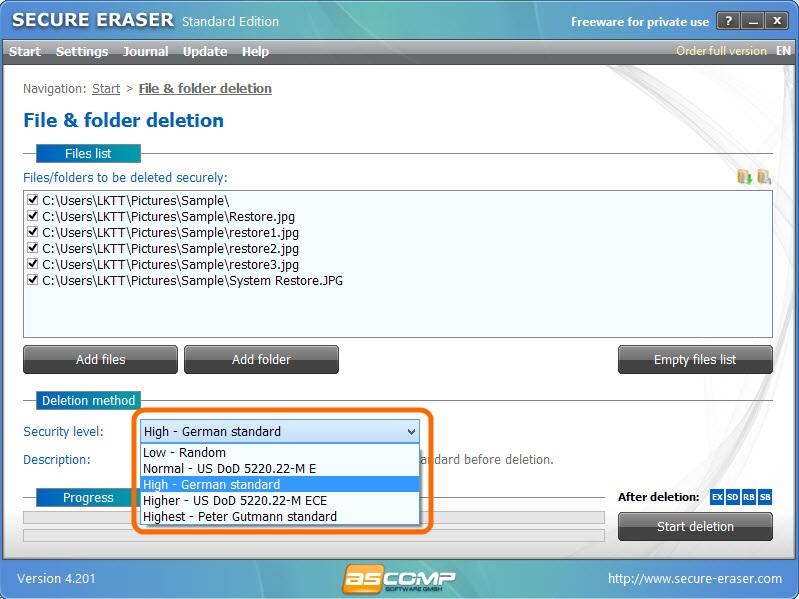 Secure Eraser-7