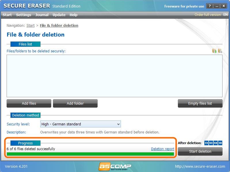 Secure Eraser-9