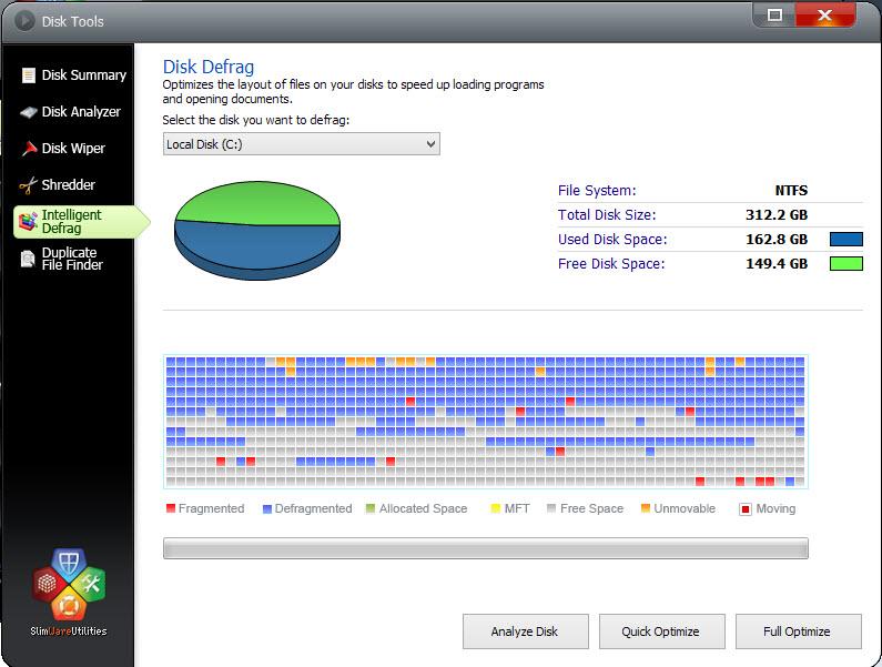 SlimCleaner-Disk defrag-7