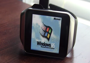 Windows 95 on your smartwatch 300