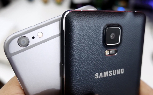 iphone 6 plus galaxy note 4 video 600