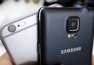 iphone 6 plus galaxy note 4 video th
