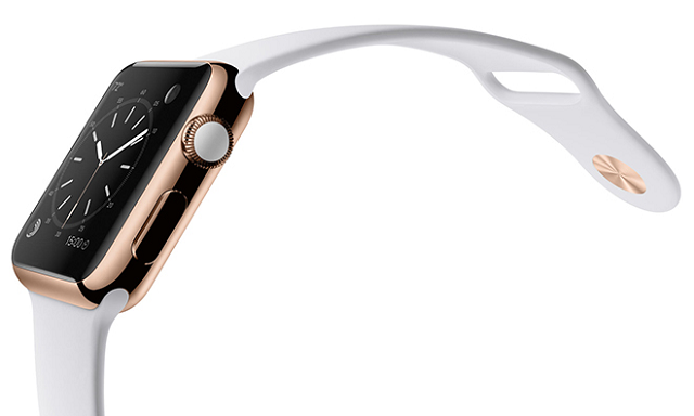 Apple Watch gold 600